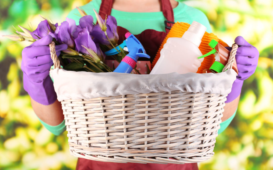Get Your Home Organized With 4 Simple Spring Cleaning Tips