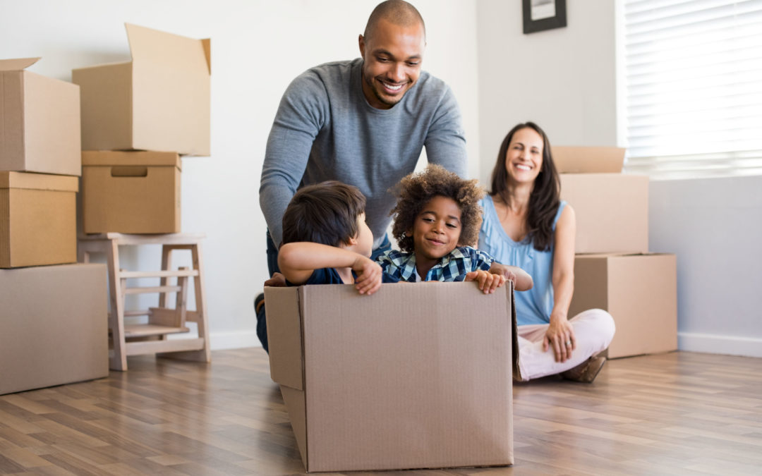 5 Simple Ways to Make Your Family's Move Easier For Your Kids