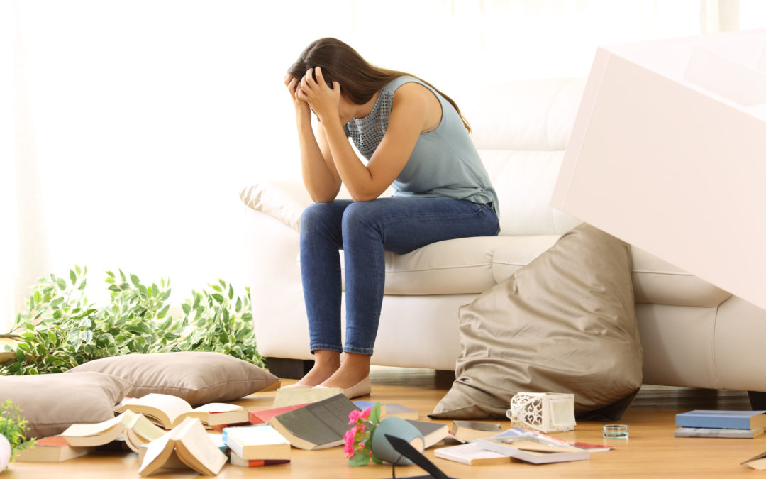 Feeling Stressed? Clutter May Be the Cause. Get Organized in 3 Simple Steps.