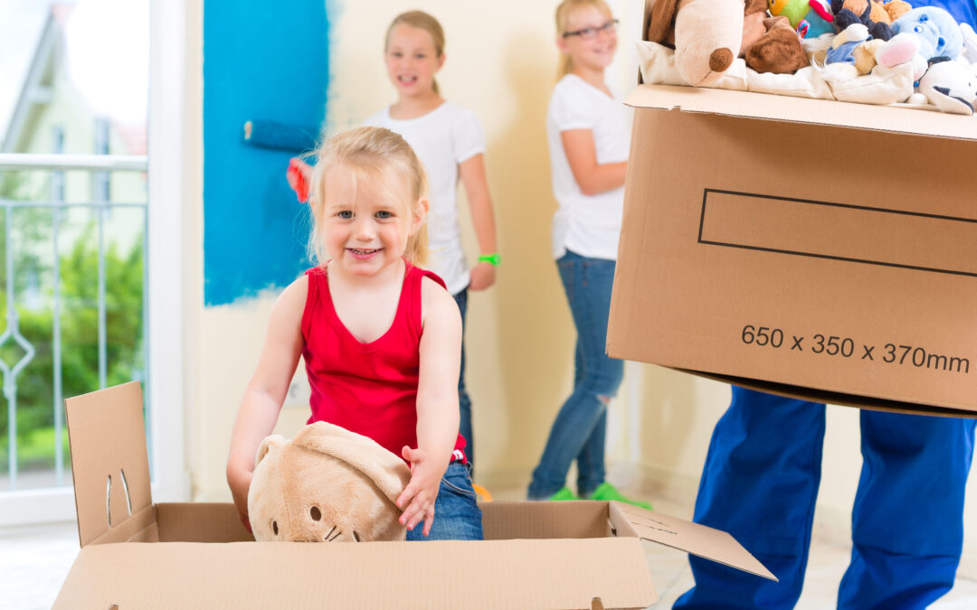 3 Tips to Make Moving into a New Home Easier for Young Children